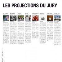 Cartel projection du Jury