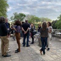 Vernissage Hors les Murs Claudia Fritz Chateau Capion